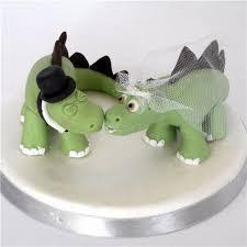 dinosaur wedding cake topper wedding cakes