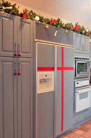 christmas decorations for kitchen cabinets decorating for christmas in the kitchen the kitchen designer