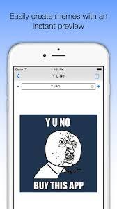Meme Creator App Iphone - easymeme meme maker with 400 memes on the app store