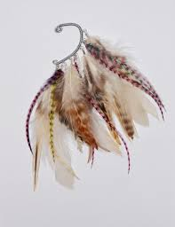 how to make feather ear cuffs 176 best feather earrings feather ear cuffs images on