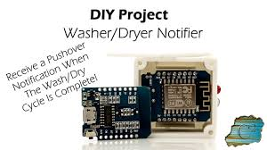 Washer Dryer Enclosure Diy Project Washer Dryer Notifier Arduino Esp8266 D1 Mini 3d