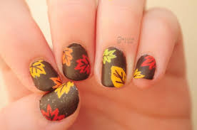 nail for thanksgiving nails nailart autumn leaves nail for the fall season i