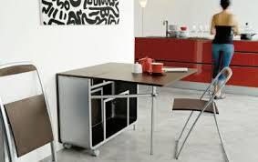 tables de cuisine pliantes table cuisine pliable table salle a manger bois naturel maison
