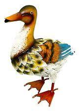 ducks metal standard size garden statues lawn ornaments ebay