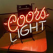 vintage coors light neon sign find more flawless vintage coors light neon sign for sale at up to