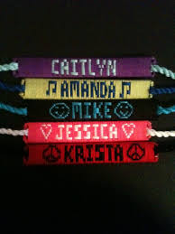 name bracelet make images Name bracelets custom made friendship bracelets jpg