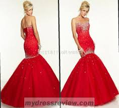 red backless mermaid prom dress and style 2017 2018 mydressreview