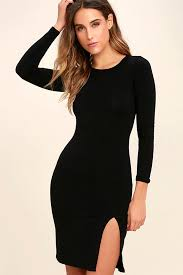 black dress turtleneck dress long sleeve dress bodycon dress