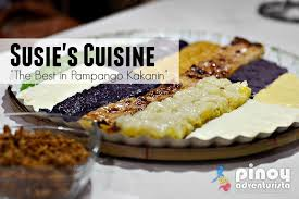 cuisine city susie s cuisine the best in pango kakanin in angeles city