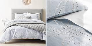Duvet Covers Restoration Hardware Embroidered Metallic Links Bedding Collection Rh Baby U0026 Child