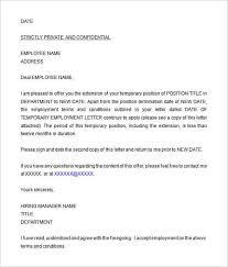 offer letter template word sample job offer letter 9 documents in