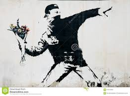 banksy protest mural in palestine editorial photography image editorial stock photo download banksy protest mural