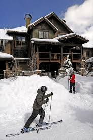 Backyard Ski Lift Ski In Out 4br Townhome 200 U0027 From Union Homeaway Copper