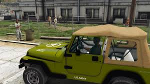 jeep army green us army texture jeep wrangler gta5 mods com