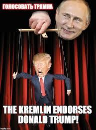 Vladimir Putin Meme - the kremlin endorses donald trump imgflip