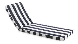 Chaise Lounge Cushions Regatta Sunbrella Chaise Lounge Cushion In Furniture Cushions