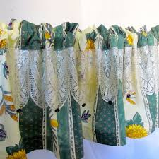Sunflower Yellow Curtains Shop Lace Curtain On Wanelo