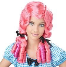 halloween blonde wigs girls wigs costume craze