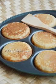 cara membuat kue apem bakar diah didi s kitchen pancake jawa a k a kue apem