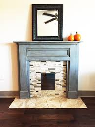 how to make a fake fireplace mantel decoration ideas cheap amazing