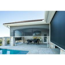 Retractable Awning With Bug Screen Retractable Insect Screens By Texas Sun U0026 Shade Austin Tx