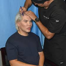 human ken doll before and after human ken doll rodrigo alves shows off his new u0027barbie u0027 hair cut