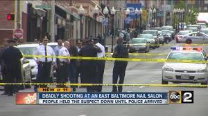 woman killed man injured in east baltimore nail salon shooting