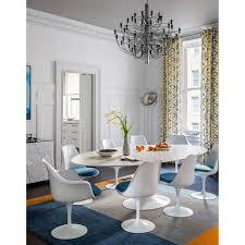 saarinen oval dining table used stunning saarinen oval dining table skandium image for wood
