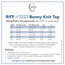 150 Meters To Yards Cake Patterns 2223 Bonny Knit Sailor Top