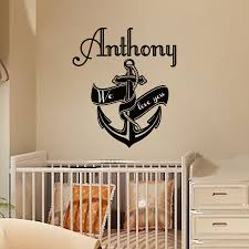 Personalized Name Wall Decals For Nursery by Compare Prices On Nautical Boys Online Shopping Buy Low Price