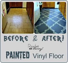 Vinyl Kitchen Flooring by Best 20 Paint Linoleum Ideas On Pinterest Painting Linoleum
