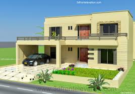 Design House 3d 3d Front Elevation Com 2 Kanal 3d Front Elevation Of House Ip Town