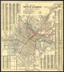 los angeles map pdf transit history in los angeles a 1906 map of the city s streetcar