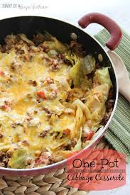 one pot cabbage casserole diary of a recipe collector