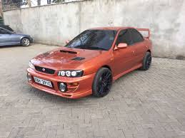 locally used subaru impreza wrx sti 1997 performance sports car