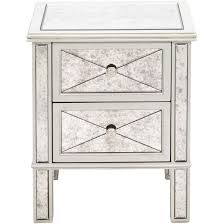 Mirrored Bedside Tables Cheap Silver Bedside Tables I768 Info