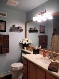 blue and brown bathroom bathroom decor