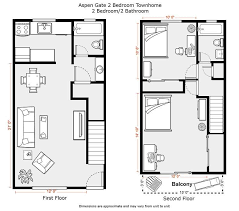 two apartment floor plans floor plan for two bedroom apartment bungalow house 2018