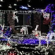 san jose christmas lights the olsen christmas light display local flavor 595 amboy dr