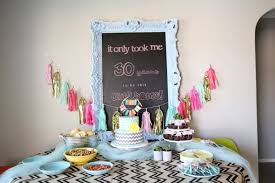 Barn Party Decorations Celebrate In Style With These 50 Diy 30th Birthday Ideas