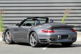 2009 porsche 911 cabriolet 2009 porsche 911 awd turbo 2dr convertible in hailey id for sale