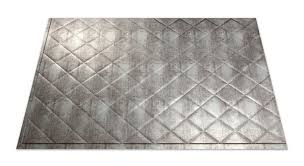 commercial kitchen backsplash fasade quilted in crosshatch silver kitchen backsplash panels are