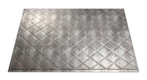Commercial Kitchen Backsplash Fasade Quilted In Crosshatch Silver Kitchen Backsplash Panels Are
