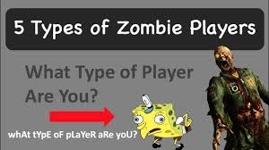 5 types of zombie players black ops 3 zombies youtube