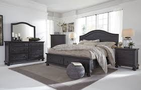 charcoal storage panel bedroom set