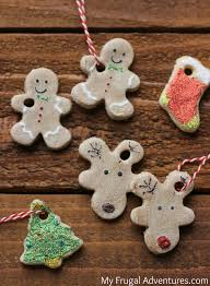 ornaments dough ornaments reindeer salt