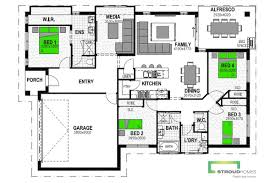 Waterloo Station Floor Plan by Avoca 198 Home Design Stroud Homes