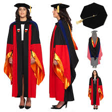 graduation gown and cap stanford phd gown cap and regalia set