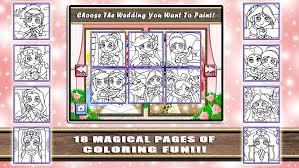 princess wedding coloring world my paint color and draw frozen