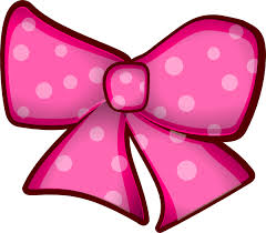 pink bows pink bow clip at clker vector clip online royalty